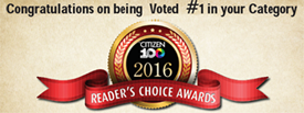 Prince George Citizen Reader's Choice Award - #1 Choice in Category!