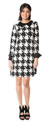 Arianne Houndstooth Dress