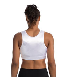 Enell white Sports Bra